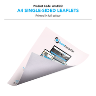 A4 Leaflets Colour (Single/Double-Sided)