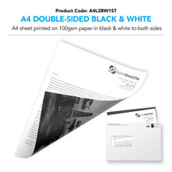 A4 Letter Double-Sided Black & White (personalised inc. 1st class postage)