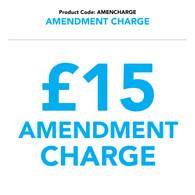 AMENCHARGE - Amendment Charge
