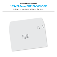 C5 BRE (inc. print) (1/0) Priced per 1000