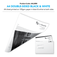 A4 Letter Double-Sided Black & White (personalised inc. 2nd class postage)