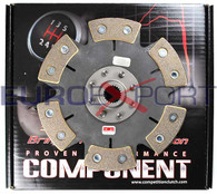 Mitsubishi 4G93 4G92 Ceramic 6 Puck Solid Disc Competition Clutch