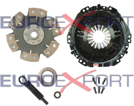 Toyota 3TC 2TC Stage 4 Clutch Kit 6 Pad Solid Competition Clutch