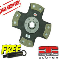 Honda Civic D16 D15 Competition Clutch 4 Puck Solid Clutch Disc