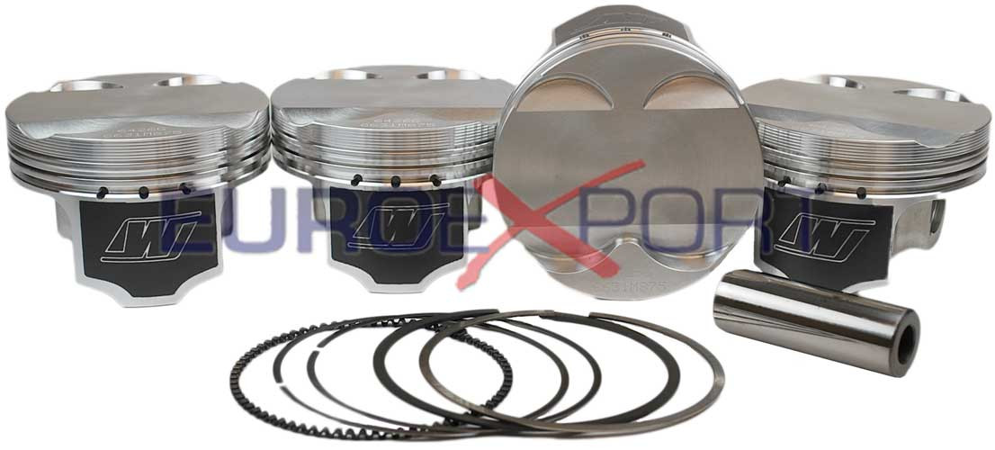 Honda Civic Si Acura RSX K20 Wiseco Forged Piston Set 86mm Flat Top  K631M86AP