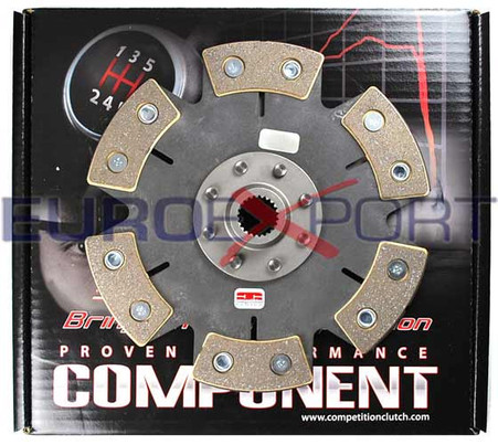 Mazda Rotary 13B Ceramic 6 Puck Solid Disc Competition Clutch