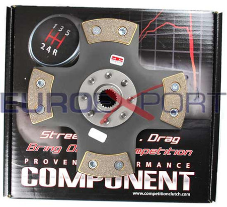 Honda Accord 79-85 1.8L B18 Cable Competition Clutch 4 Puck Solid Disc