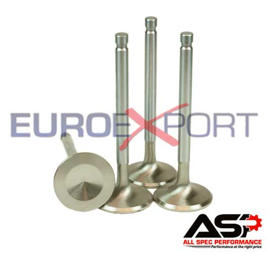 Toyota 3TC 2TC 38 5mm Stainless Steel Exhaust Valve Set +0 100 In Length