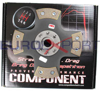 Toyota 3TC 1.8 with 22R Celica Spline Competition Clutch 4 Puck Solid Clutch Disc