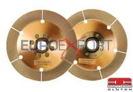 Honda B16 B18 B20 Competition Clutch Twin Disc Upper & Lower Ceramic Disc Replacement 4-8026-C