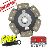 Honda Acura K20 K24 Ceramic 6 Puck Solid Disc Competition Clutch