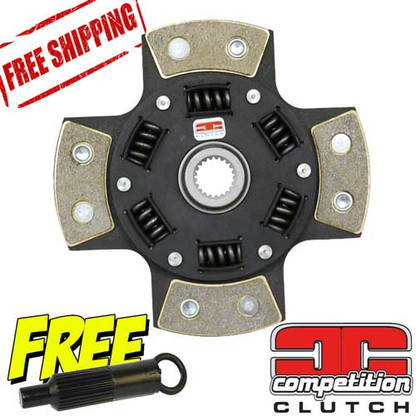 Honda B16/B18/B20 Competition Clutch 4 Puck Sprung