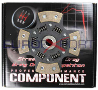 Toyota Corolla 1.6L 1.8L 89-06 212mm 4 Puck Sprung Competition Clutch Disc