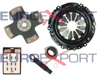 Honda Acura K20 K24 Stage 5 Clutch Kit 4 Pad Solid Disc Competition Clutch