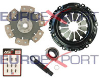 Honda Acura K20 K24 Stage 4 Clutch Kit 6 Pad Solid Disc Competition Clutch