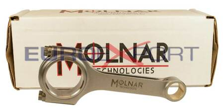 Honda D16 Molnar Connecting Rods w/ ARP2000 Rod Bolts