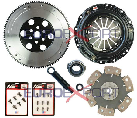 Honda D Series with B Series Transmission Competition Clutch Lightweight Steel Flywheel + Stage 4 Clutch Kit