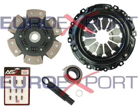 Honda Acura K20 K24 Stage 4 Clutch Kit 6 Pad Sprung Disc Competition Clutch