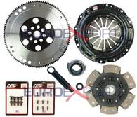 Honda B16 B18 B20 Competition Clutch Lightweight Steel Flywheel + Stage 4 Clutch Kit