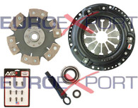 Honda D15 D16 D17 Stage 4 Clutch Kit 6 Pad Solid Competition Clutch