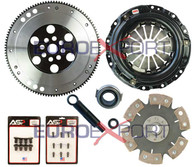 Honda B16 B18 B20 Competition Clutch Lightweight Steel Flywheel + Stage 4 Clutch Kit 1