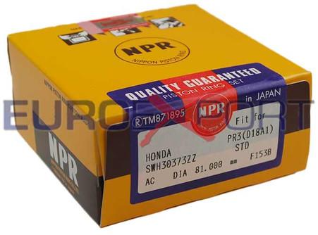 Honda B16 B17 B18 81mm NPR Piston Ring Set