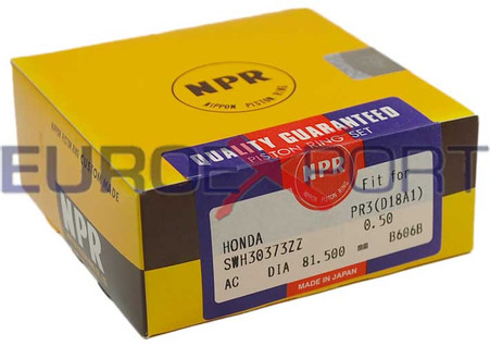 Honda B16 B17 B18 81.5mm NPR Piston Ring Set