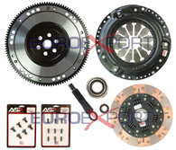 Honda D Series Competition Clutch Lightweight Steel Flywheel + Stage 3 Clutch Kit