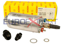 Genuine Bosch 044 Universal Inline Fuel Pump with -6AN Inlet -10AN Outlet