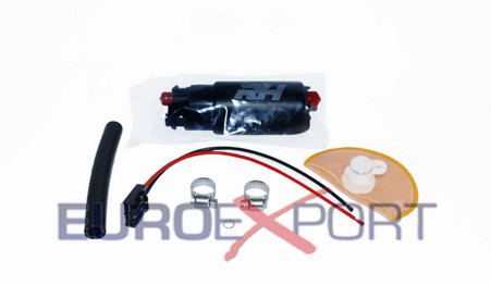 RedHorse E85 Compatible In Tank Fuel Pump 265 LPH Offset Inlet Inline