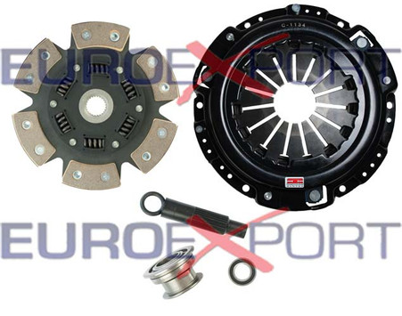 Clutch Kit 8014-1620 Honda Prelude 2.0 2.1 1990-1991 6 Puck Sprung Ceramic Stage 4