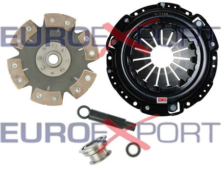 Competition Clutch Kit 8014-0620 Honda Prelude 2.0 2.1 1990-1991 6 Puck Rigid Ceramic Stage 4