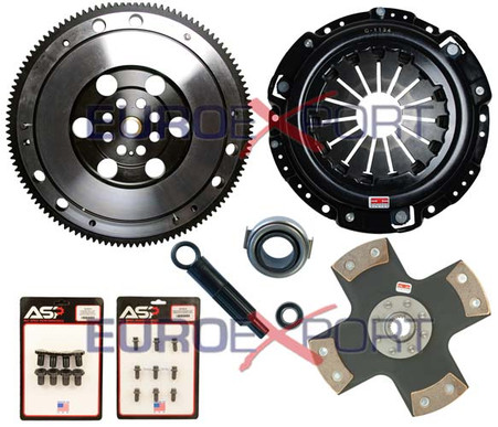 Competition Clutch Flywheel Kit Honda Prelude H22 H23 4 Puck Rigid Ceramic Stage 5
