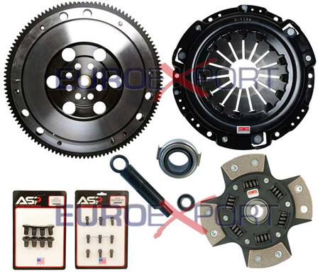 Competition Clutch Flywheel Kit Honda Prelude H22 H23 4 Puck Sprung Stage 5