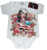 Cool Onesie or Toddler T-Shirt: Love to Death