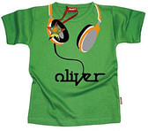 Cool Personalized T-Shirt: Headphones