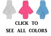 Solid Colors Leg Warmers