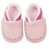 Baby Shoes: Light Pink Moccasin