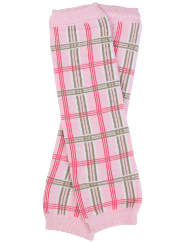 Preppy Pink Plaid Baby & Toddler Leg Warmers.