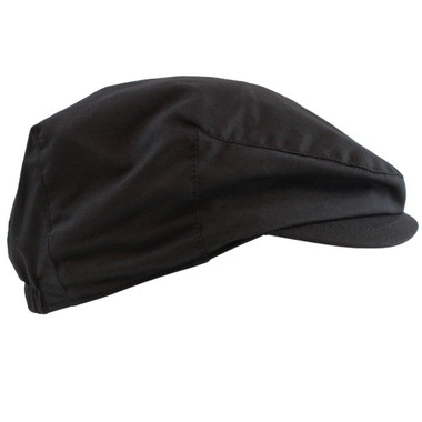 Black Newsboy Baby Hat