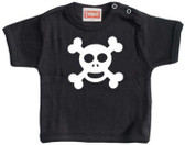 Punk Rock Skull Baby T-Shirt