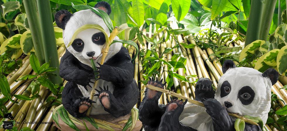 Boehm Animal Panda Porcelain