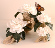 "Boehm ""Gardenia With Butterfly"" 10396C"