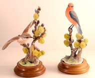 "Dorothy Doughty ""Vermilion Flycatchers"" (Pair)"