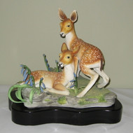 "Boehm ""Young And Free Fawns"" With Base 500-14"