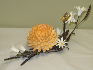 "Boehm ""Chrysanthemum With Daisies"" (On Bronze) 60015C"