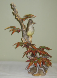 "Boehm ""Crested Flycatcher On Sweet Gum"" 488C"