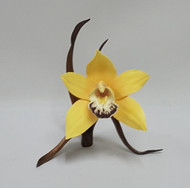 "Boehm ""Yellow Orchid On Bronze"" 8000YO"