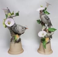 "Boehm ""Mockingbirds With Morning Glory"" (Pair) 459"