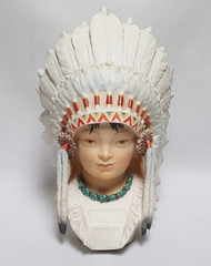 "Cybis ""Little Eagle Indian Chief"" CYB1"